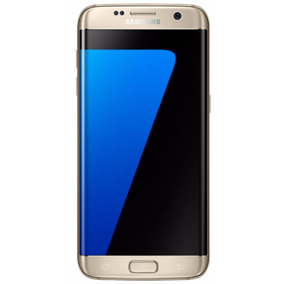Samsung Galaxy S7 Edge 32gb Dourado Mt Bom Seminovo C/nf