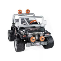Jeep Wrangler Power Wheels Fisher-price / Altavoz Integrado
