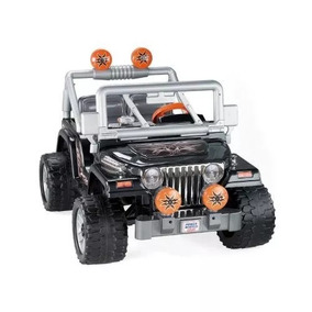 Jeep Wrangler Power Wheels Fisher-price / Altavoz Integrado
