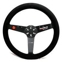 Volante Esportivo Fueltech Shutt Ftr-c Haste Revestida Couro