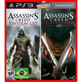 Assassins Creed Freedom Cry E Liberation Ps3 Psn Play 3