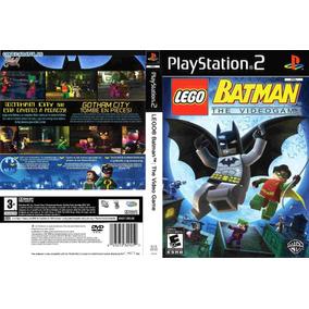 Jogo Lego Batman Ps2 Playstation 2 Em Português Patch