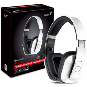 Auricular Bluetooth Genius Hs 970bt 4.0 Nfc White Blanco