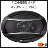 Parlantes Pioneer 6x9 420w 3 Vías Ts-a6966s Garantía Grpro