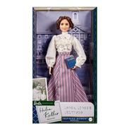 Barbie Série Mulheres Inspiradoras Helen Keller Melhor Preço