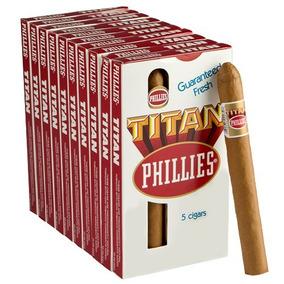 Puros Cigarros Phillies Titan Varios Sabores Origen: Ee Uu