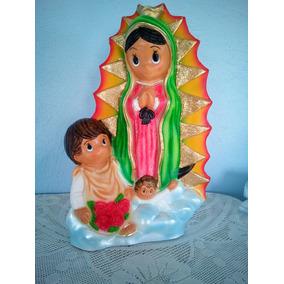 Virgen De Guadalupe En Caricatura! Figura De Resina