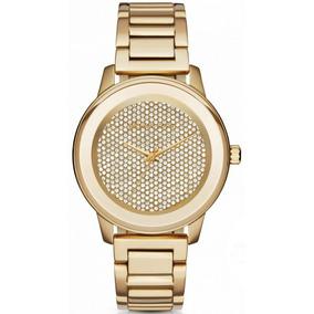 6f70f2903a126 Novo Relógio Michael Kors Prateado E Dourado 42mm Mk5748 - Relógios ...