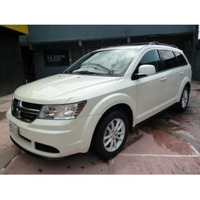 Dodge Journey Sxt 4 Cil Piel Quemacocos 2013