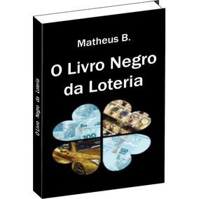 Livro Negro Da Loteria - Entrega Via Sedex