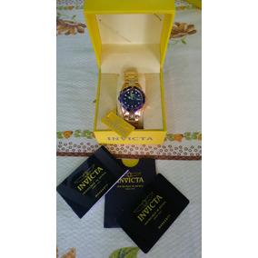 Relógio Invicta Pro Diver 8937   Ouro 18k   Original