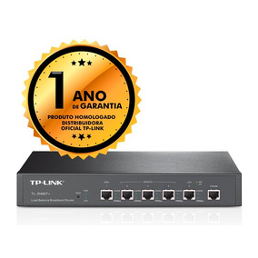 Roteador Broadband Tp-link Tl-r480t+ Load Balance 2wan 3lan