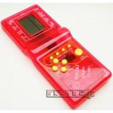 1 Mini Game Tetris Vermelho 132 Jogo + 2 Pilhas Grátis Retrô