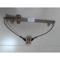 Maquina De Vidro Manual Porta Traseira Direita Tipo 1.6 Mpi