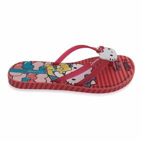 Ojota Roja Ipanema Hello Kitty