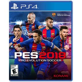 Juego Ps4 Sony Pro Evolution Soccer 2018 ( Físico)