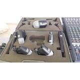 Set De Microfonos Para Bateria Jts Competencia De Shure