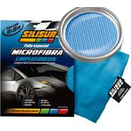 Silisur Paño Especial Microfibra Limpia Vidrios 40x38cm
