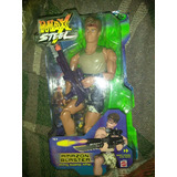 Max Steel Amazon Blaster Firing Swamp Rifle Vintage.