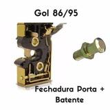 Fechadura Porta Gol Quadrado + Batente Ano 86/95