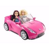 Carro Convertible Brillante De Barbie Dvx59