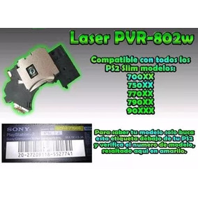 Lector Lente Laser Ps2 Slim Pvr 802 Playstation 2
