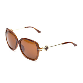 Óculos De Sol Thomaston Flower Marrom Rajado 8dae1ac424