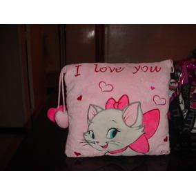 Cojin De Niñas Gata Marie, De Hello Kitty En Tela Peluche