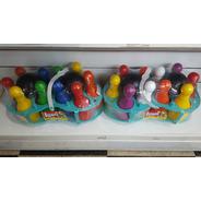 Juego De Bowling Luni Bolos Colores July Toys