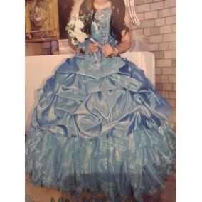 Vestido De Xv Años Color Turquesa