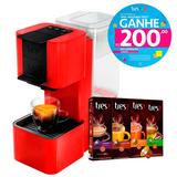 Máquina De Café Três Corações 127v+40 Cápsulas+voucher R$200