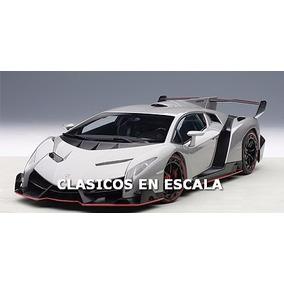Lamborghini Veneno Geneva Show Car - Megacar - Autoart 1/18