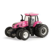 Miniatura Trator New Holland T8.410 (rosa) - 1/64