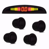 Sensor De Estacionamento Ré 4 Pontos Display Lcd Cp92