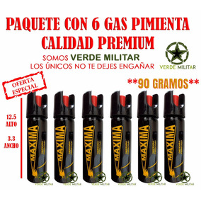 Gas Spray Defensa Personal Evita Robos Acoso Delincuencia