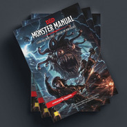 D&d Dungeons & Dragons Manual Dos Monstros