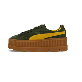 Zapatillas Puma Cleated Creepersuede 366268 01 Mujer