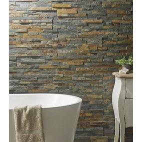 Piedra oxido natural pisos paredes y aberturas en for Piedra revestimiento pared