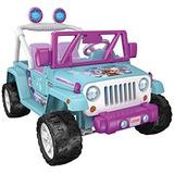 Carro Montable Fisher-price Disney Congelado Jeep Wrangler