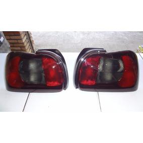 Par Lanterna Traseira Marea Sedan 98 99 2000 2001 Completa