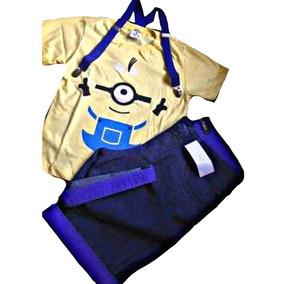 Conjunto Fantasia Infantil Super Herois Minions! Promoção!