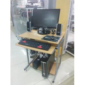 Computadora Completa Con Mesa Monitor Led Accesorios