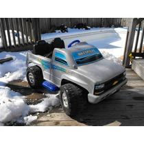 Carrito De Bateria Silverado Power Wheels Jeep