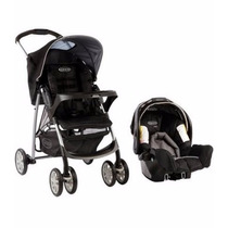 Coche Con Huevito Travel System Mirage Plus Graco Cubrepies