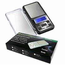 Balanza Digital De Precisión 500g / 0.1g Lcd C/ Luz Portatil