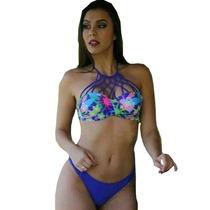 Biquíni Bojo Modelo 3d , Onça , Pérola , Panicat Verão 2016