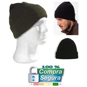 Gorro Negro 100% Lana