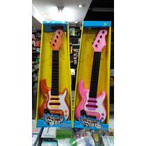 Guitarra Electrica Guitar Star De Juguetes Para Niños