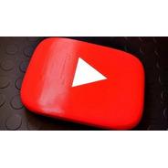 Play Youtube Personalizada - Impressão 3d