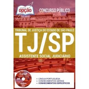 Apostila Tj-sp 2017 - Assistente Social Judiciário[cd Grát